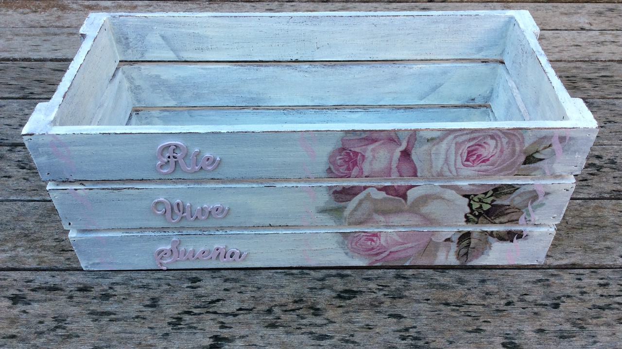 Decorar Cajas Con Servilletas Caja De Madera Decorada Con Decapado Y Decoupage - Youtube