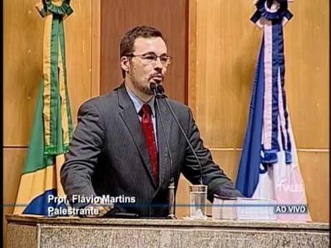 Palestra Prof Flávio Martins na ALES - Novo Constitucionalismo Latino Americano