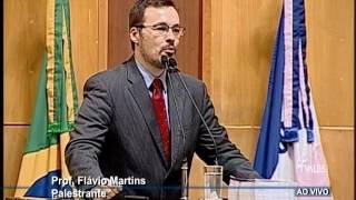 Palestra Prof. Flávio Martins na ALES - Novo Constitucionalismo Latino Americano