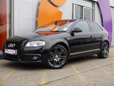 2010 audi a3 black edition 2 0tdi 170 quattro hatchback for sale in hampshire youtube. Black Bedroom Furniture Sets. Home Design Ideas