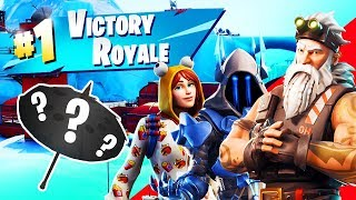(FIRST EVER WIN IN SEASON 7 - FORTNITE BATTLE ROYALE GAMEPLAY REACTION)