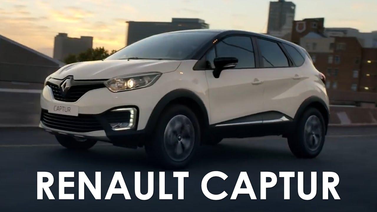 Captur O Novo Suv Da Renault Para O Brasil Youtube