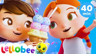 Ice Cream Song - Learn with Little Baby Bum | Plus More Nursery Rhymes and Baby Songs | Kids Songs