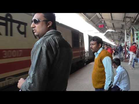 A Train Journey from Jhansi to Bhopal, India