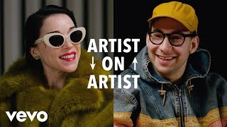 Artist on Artist: St. Vincent x Jack Antonoff on Censorship, Masks, and Biblical Butts