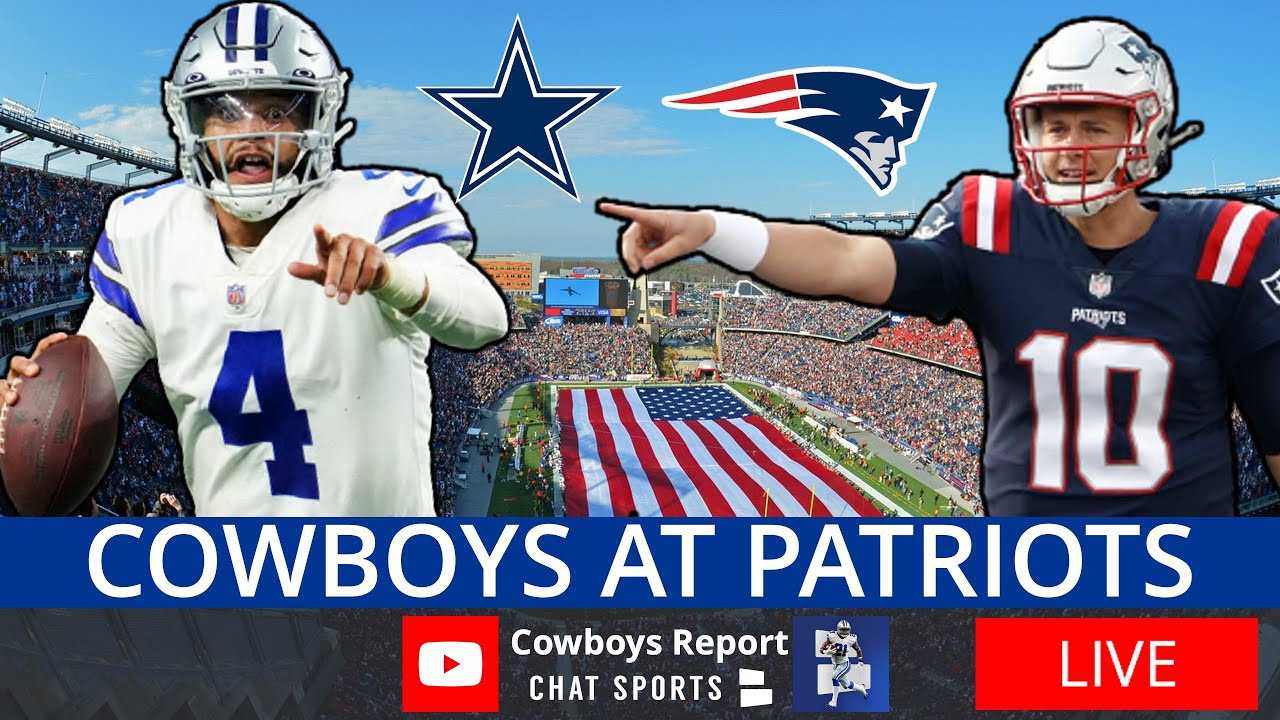 Cowboys vs. Patriots live updates: Stats and highlights as Dak ...