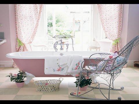 Видео Шебби Шик в Интерьере Ванной
