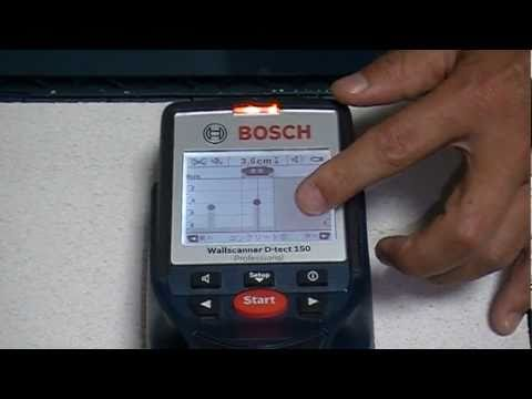 Bosch d tect 100 funnycat tv for Bosch scanner mural d tect 150 professional