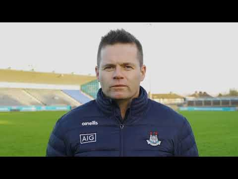 Dessie Farrell, Dublin Manager asks you to #HoldFirm this weekend