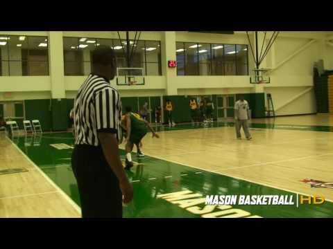 George Mason Basketball - Practice Highlights Oct 2009
