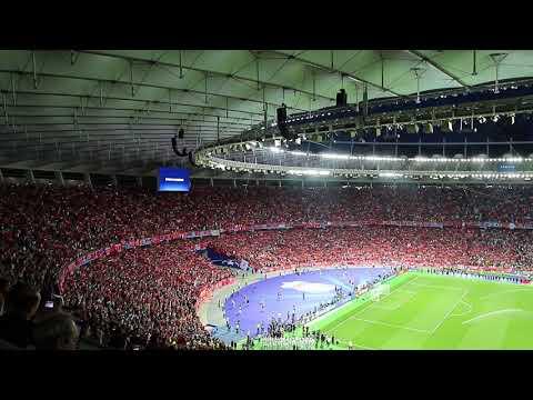 You'll Never Walk Alone UCL Final 2018 Kyiv Liverpool FC v Real Madrid FC