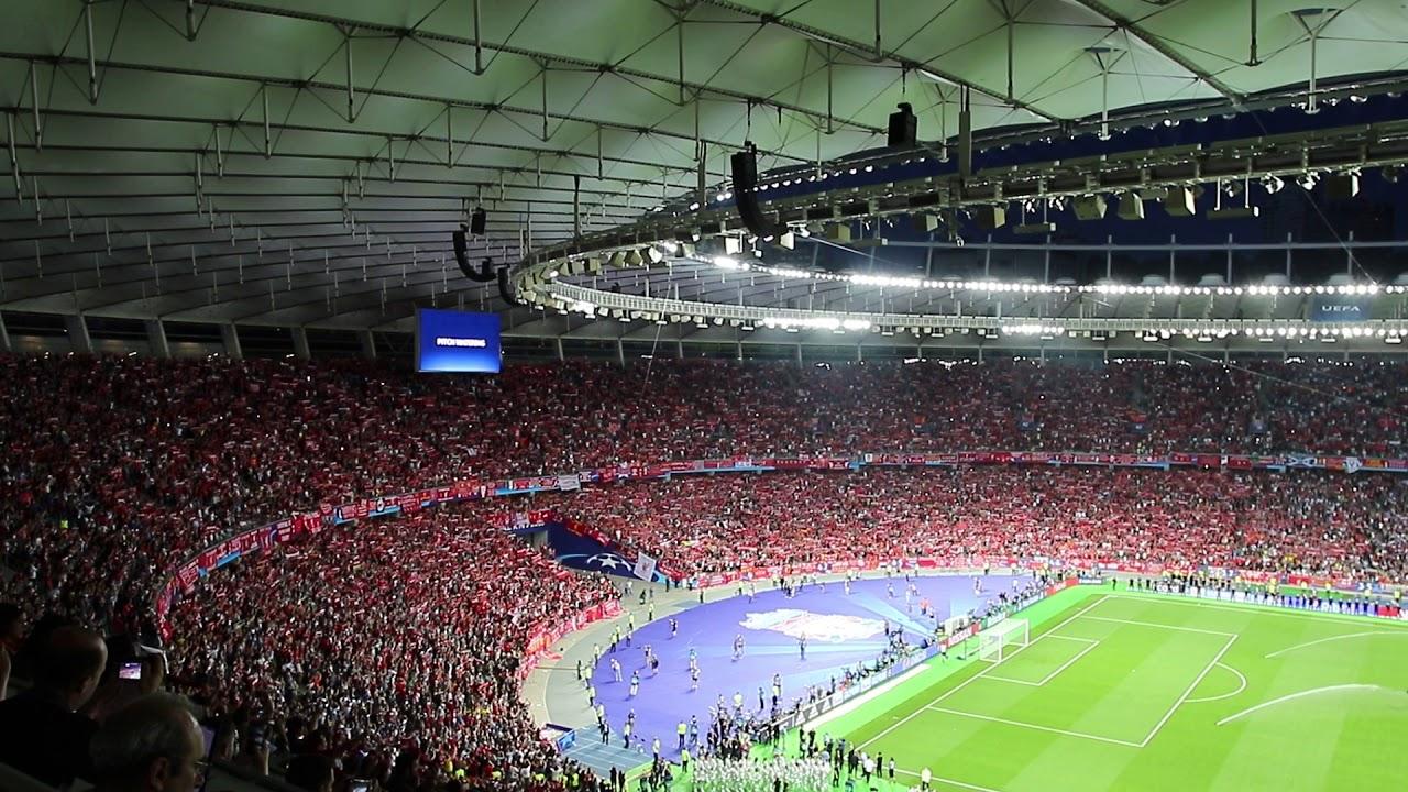 L.F.C /Écharpe Officielle du Club de Liverpool FC Champions 2018-19 Youll Never Walk Alone
