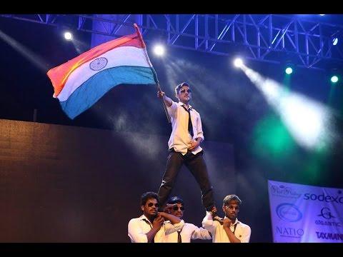 PD6 DANCE PERFORMANCE at biswamil 2015 - O.P JINDAL GLOBAL UNIVERSITY, DELHI