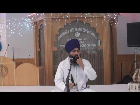 Bhai Harjit Singh Dhapali 31 July 2016 Edmonton
