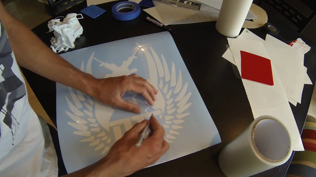 How To Make Vinyl Decals With Vinyl Cutting Machine YouTube - How to make vinyl decals