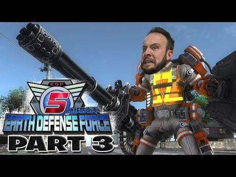 Earth Defense Force 5 Part 3 - Funhaus Gameplay thumbnail
