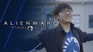 Team Liquid LoL | Olleh's First Look at The Alienware Training Facility