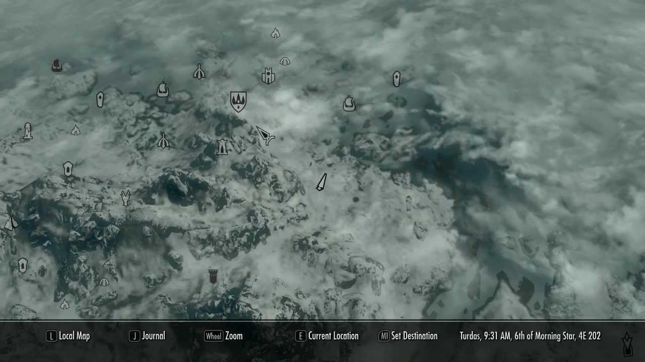 Pin Skyrim Deathbrand Treasure Map Location Images To Pinterest