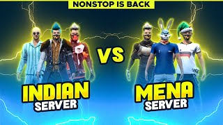 FREE FIRE LIVE INDIA VS MENA SERVER BIGGEST CLASH WAR PRACTICE MATCHES   -  FREE FIRE LIVE
