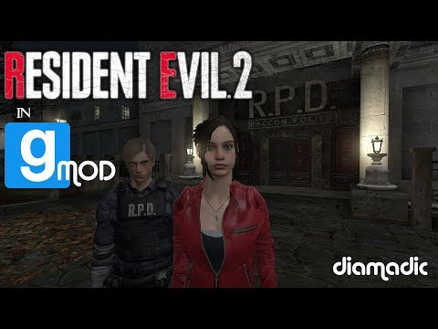 RESIDENT EVIL 2 / BIOHAZARD 2 RE:2 Remake in Garry's Mod! |