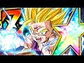 THEY CREATED A MONSTER! 100% RAINBOW STAR EZA STR SSJ2 GOHAN! (DBZ: Dokkan Battle)