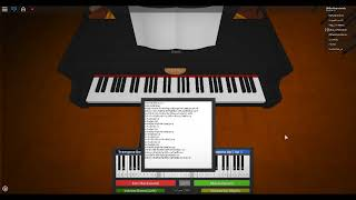 Roblox Piano River Flows With In You (Notes In Description!)