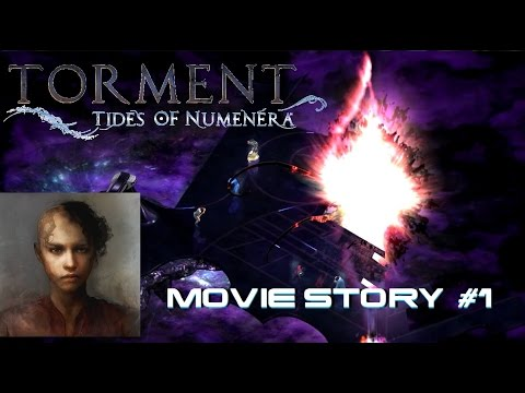 Torment: Tides of Numenera STORY MOVIE - PART 1 ( INTRO + Recruiting Companions)