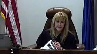 Family Court Judge Rebecca Burton kicked out court observers by muttered words closed hearing 4-5