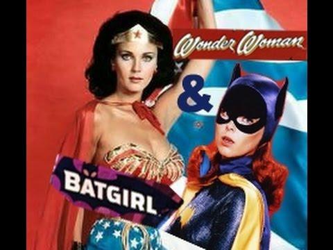 Wonder Woman - Lynda Carter & Bat Girl - Yvonne Craig (Tribute)