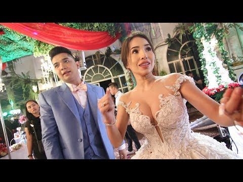 SOCIAL MEDIA KING & QUEEN WEDDING VLOG (NAKAKA IYAK)
