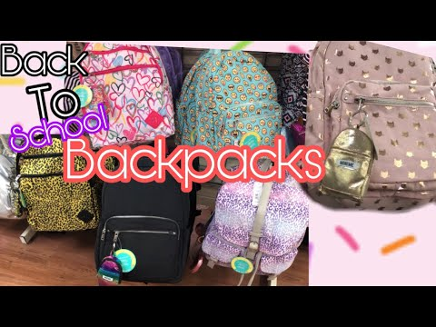 Walmart Back to School Shopping 2019 Backpacks and more Back to School  Supplies