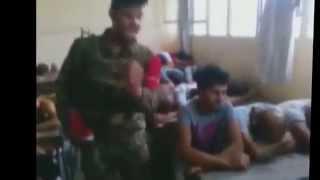 СИРИЯ. Издевательства над рестованными