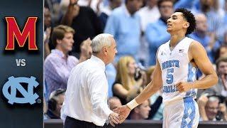 North Carolina vs. Maryland Basketball Highlights (2015-16)