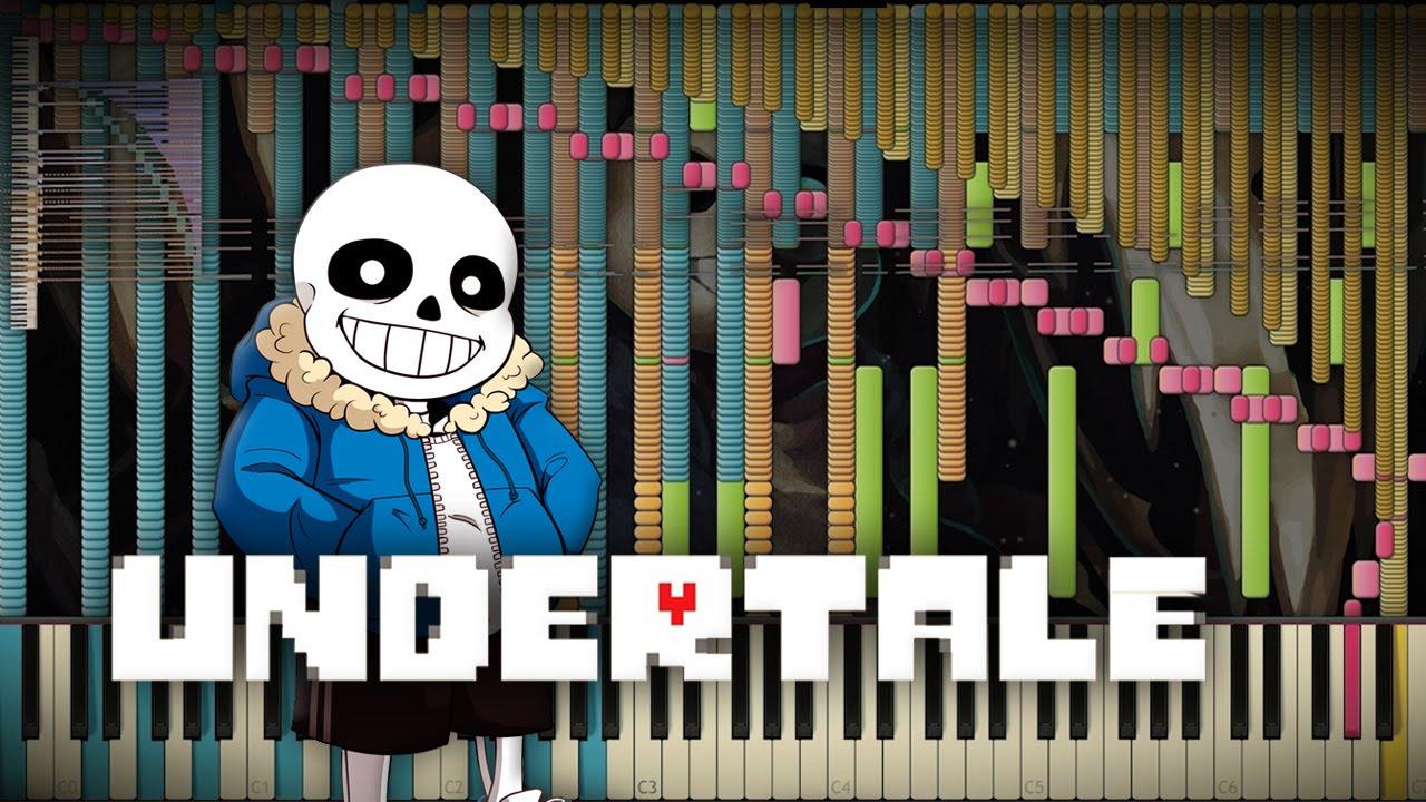 Synthesia: Undertale - Megalovania   82,000+ Notes   Black MIDI