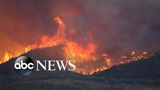 Evacuations ordered as Lake fire chars over 10,000 acres l GMA