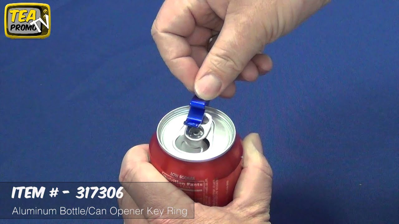 how to open a soda can without can opener