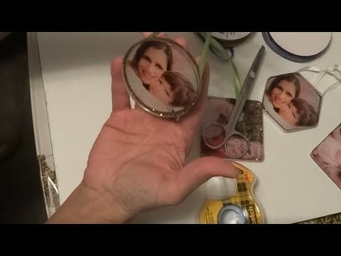 Resin Photos Ornaments