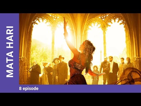 MATA HARI. Episode 8. Russian TV Series. StarMedia. Drama. English dubbing
