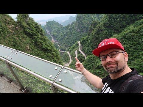 CHINA VLOG | Tag 4 | geilste Strasse der Welt und Landschaft | Zhangjiajie 张家界 + Tianmen Mountain