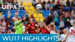 UEFA Women Under-17s: Spectacular Navarro goal helps Spain into final