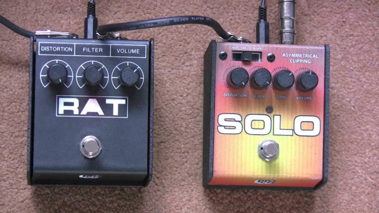 can you get a solo rat to sound like a rat 2 proco rat 2 distortion pedal vs solo rat youtube. Black Bedroom Furniture Sets. Home Design Ideas