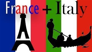 Romantic French Cafe Music + Traditional Music from Italy The Best Collection