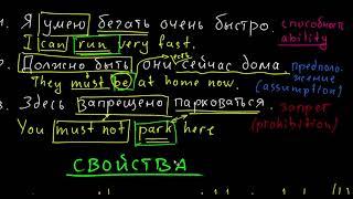 Modal Verbs - вступление в тему | что такое модальные глаголы