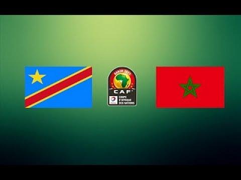 MOROCCO VS DR CONGO CAN 2017