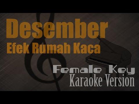 Efek Rumah Kaca - Desember (Female Key) Karaoke Version | Ayjeeme Karaoke