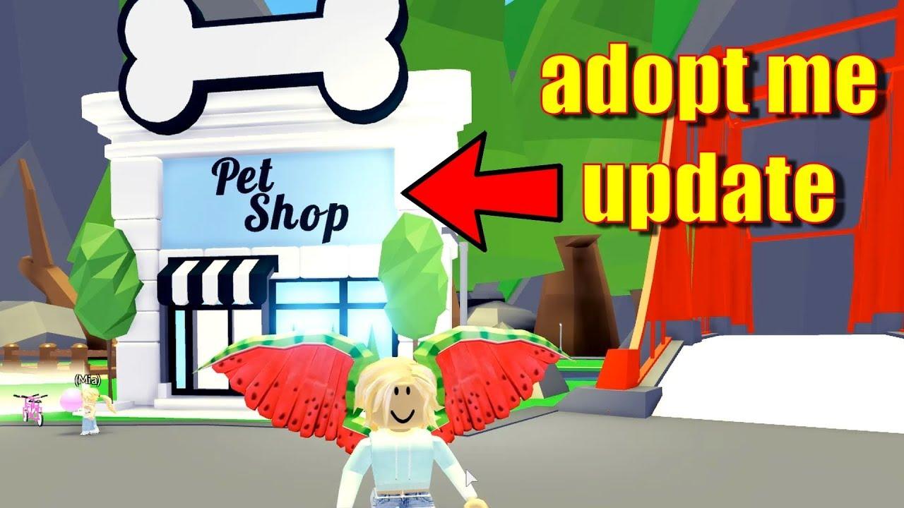 Roblox Adopt Me Update The Pet Shop Is Open