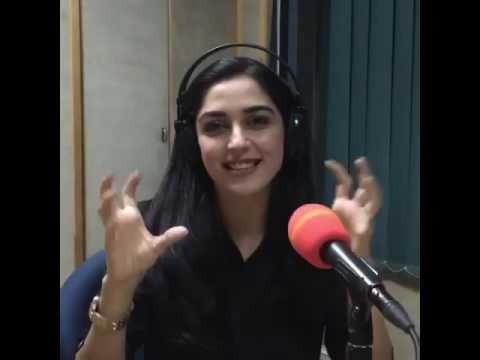 Maya Ali on live show with Dr Ejaz Waris on FM 103