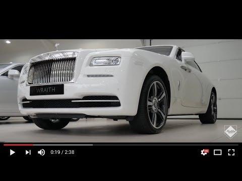 2016 Rolls-Royce Wraith in English white