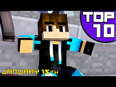 ♪ Top 10 Minecraft Songs and Animations of January 2017 ♪ NEW Best Minecraft Song Compilations ♪