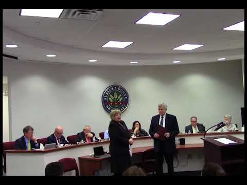 April 25 2018 Sussex County Board of Chosen Freeholders